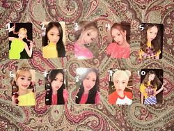 LOONA 12:00 Album Photocards Ver. C $6.00