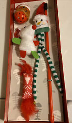 Elite Merry Christmas for cats with gift box 4 pcs Set FREE SHIPPING $18.95