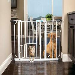 Cat Dog Fence Gate Extra Wide Metal Lever Style Handle Home Security 31.25quot; H $149.01