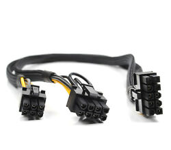 Power Adapter GPU Cable 10pin to 6pin and 8pin For HP DL380 G8 50cm ship @US $15.73