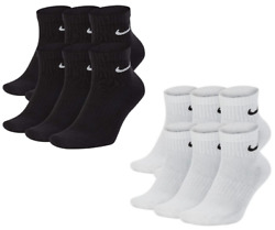NIKE Everyday Performance Ankle Length Socks Pick 1 3 6 Pairs Mens Dri Fit $25.46