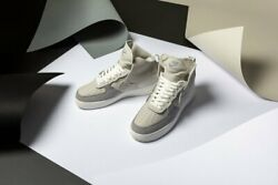 Nike Air Force 1 High PSNY Grey Matte Silver AO9292 001 Men's multi sizes
