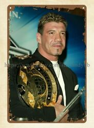 art wall metal Eddie Guerrero Latino heatwrestler WWE champion metal tin sign $15.99
