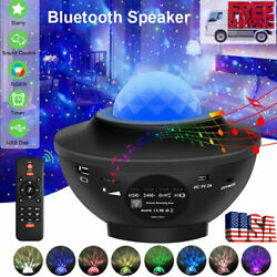 LED Bluetooth Galaxy Starry Night Light Projector Speaker Ocean Star Sky Party $32.99