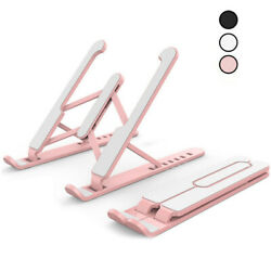 Adjustable Portable Foldable Notebook Table Stand Tray Lazy Laptop Computer Desk $8.99