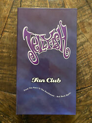 Jellyfish Box Set Fan Club From The Rare to the Unreleased RARE Like New $250.00