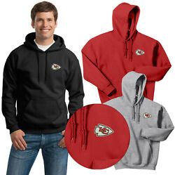 Kansas City Chiefs Hooded Sweat Shirts Embroidered up to 5x $32.95