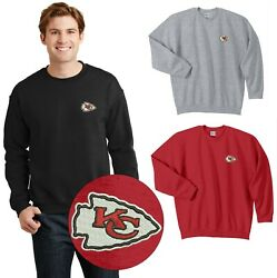 Kansas City Chiefs Sweat Shirts Embroidered up to 5x $23.95