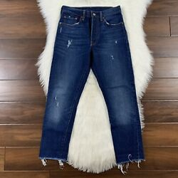 Levi#x27;s Women#x27;s Size 26 Song For Forever High Rise 501 Skinny Denim Jeans $39.95
