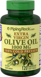 Piping Rock Organic Olive Oil 1000 mg 120 Quick Release Softgels free shipping $13.39