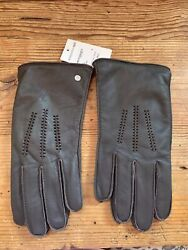 UGG Wrangell Men#x27;s Smart Gloves Brown Size Large 11991 $155 New NWT $34.99