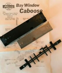 Athearn Bay Window Caboose VALUE PACK Floor Weight amp; Underframe Parts NEW $14.77