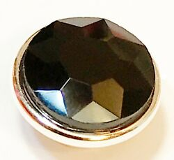Black Diamond Vintage Crystal for Kameleon Ring and Jewelry $12.00
