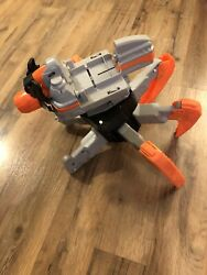 Nerf Combat Creature Terradrone Battle Drone Parts amp; Pieces. Lights Up Turns On $35.00