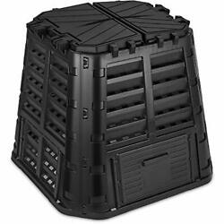 Garden Composter Bin Made from Recycled Plastic – 110 Gallons 420Liter Large $102.01