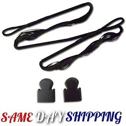 29quot; REPLACEMENT STRING FOR 180 lb CROSSBOW w 2 END CAP TIPS Archery Hunting $9.95