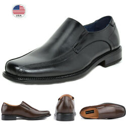 Bruno Marc Mens Dress Loafer Slip On Square Toe Driving Casual Shoes Size 6.5 15 $29.44