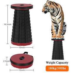 Folding Stool Portable Telescoping Seat Camping Retractable Adjustable Outdoor $21.00