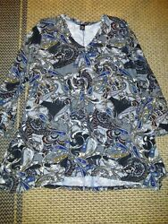 Ladies Soft Colorful Size 2X 3X Flare Bottom Tunic Top By Win Win $17.99