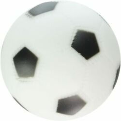 Rascals Vinyl Soccer Ball for Dogs White 3quot; Free Shipping
