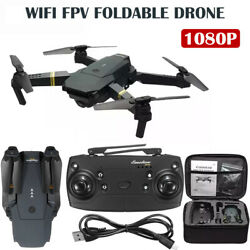 Drone x Pro Foldable Quadcopter Drone 4K 1080P Dual Camera 5G WiFi FPV GPS 3D RC $46.99