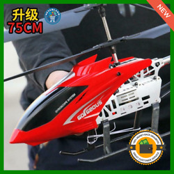 Super Large Helicopter RC Model Vehicle Remote Control Outdoor Aircraft Toy Boy $66.25