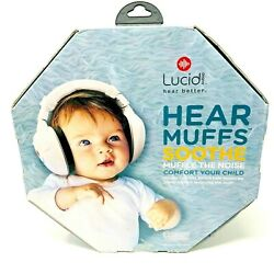 Lucid Audio HearMuffs Soothe Baby Hearing Protection Over Ear Electronic Muffs $15.99