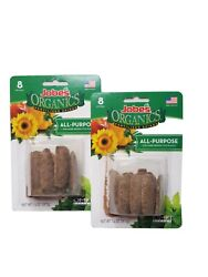 Fertilizer Plant Spikes Jobes Organic All Purpose 8 Spikes 2 Pack USA $11.22