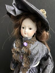 """Vintage 16"""" French Reproduction ? Antique Bisque French Fashion Doll $720.00"""