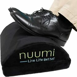 Nuumi Foot Rest for Under Desk at Work Home or Travel. Ergonomic Foam Foot $50.90