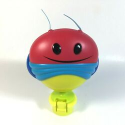 Evenflo Pink Bumbly Replacement Lightning Bug Ratchet Click Toy Stalk $9.34