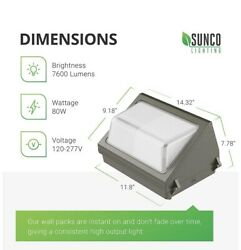 6000k 80w Commercial Wall Pack**PRICE REDUCED**