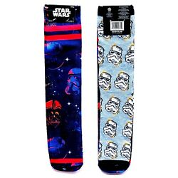 NWT New Disney Star Wars Darth Bader Storm Trooper Death Star Socks Mens Womens $15.99