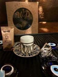 Authentic Turkish Coffee Individual Set Espresso Coffee Cup Coffee As Gift $17.50