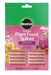 Miracle Gro Orchid Plant Food Fertilizer Spikes 10 Spikes $3.99