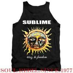 Sublime Long Beach Ca rock band tank top men#x27;s sizes $11.99