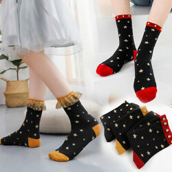 Spring Summer Rhinestone Women Star Socks Cotton Socks Hosiery Women Socks $4.01