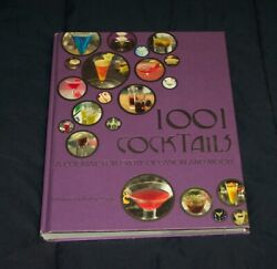 1001 Cocktails A Cocktail For Every Occasion And Mood By Robbie Bargh Hardcover $2.95