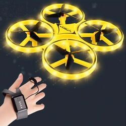 Mini Watch RC Drone Sensing Quadcopter Remote Control Helicopter Drone Kids Toys $32.35