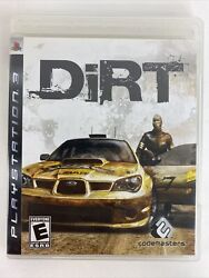 DiRT Sony PlayStation 3 PS3 Complete $12.99