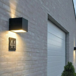 Modern Cube LED Wall Lights Up Down Sconce Lighting Fixture Lamps Indoor Outdoor $12.99