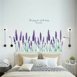 DIY Wall Stickers Flowers Girl Bedroom Wall Mural Decor Nursery Vinyl Decal C $14.92