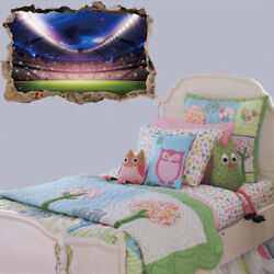 3D Soccer Field Wall Decorations World Cup Decals for Bedroom Home $8.35