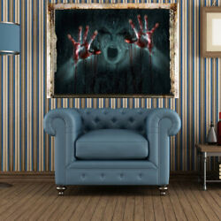 Wall Decals Wall Stickers Screech Wall Decorations Party Supply $6.96