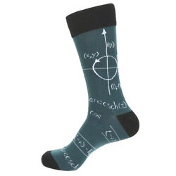 Men#x27;s Math Novelty Fun Socks $16.00
