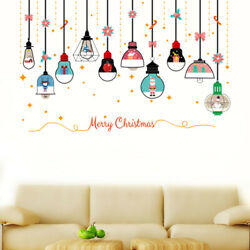 1PC Creative Decorative Christmas Chandelier Wall Stickers Wall Decal Wall Decor $7.57