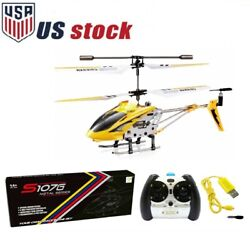 Syma S107G 3.5CH Remote Control RC Helicopter Mini Aircraft Alloy GYRO Kids Gift $23.98