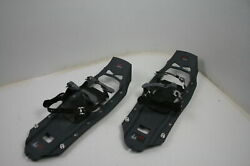 MSR Evo Trail 22 Inch Hiking Snowshoes w DuoFit Adjustable Size Charcoal Grey $116.16