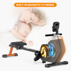 Indoor Magnetic Rowing Machine Home Gym Cardio Exercise Rower Equipment Fitness $299.88