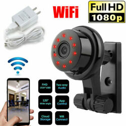 1080P Wireless WiFi CCTV Indoor Outdoor HD MINI IP Camera CAM Home Security IR $20.98